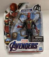 "Marvel Avengers Infinity War Iron Spider 6"" Figure Mint on Card"