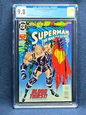 Superman: The Man of Steel #29 Vol 1 Comic Book - CGC 9.8
