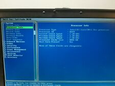 Dell Latitude D630 2.2GHz/2GB/120GB tested & reset