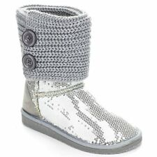 Women Multi Color New Fashion Glitter Sequins Ankle Boot Shoes
