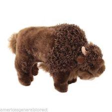 "BODI Douglas plush 9"" long BUFFALO cow stuffed animal toy brown soft"