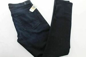 New 7 For All Mankind Edna Squiggle Slim Fit  Jeans 33 x 32 MY1