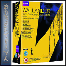 WALLANDER - THE COMPLETE COLLECTION - SEASONS 1 2 3 & 4 **NEW DVD BOXSET***