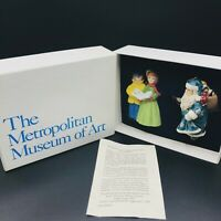 Metropolitan Museum of Art Christmas Ornaments 1992 Vintage Limited Edition NIB