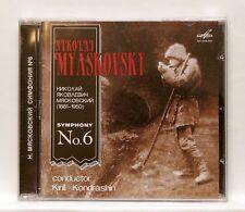 KIRIL KONDRASHIN - MYASKOVSKY symphony no.6 MELODIYA CD NM