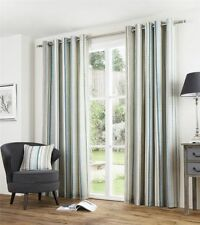 Striped 100% Cotton Window Curtains