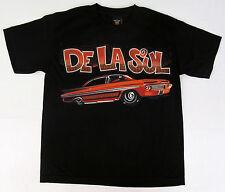 DE LA SOUL Youth T-shirt Low Rider Car Hip Hop Tee Kids Boys LARGE 100%Cotton