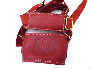 Special Edition 1996, Olympic Games Coach Brand Leather Water Bottle Bag Carrier