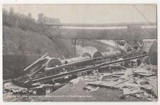 Wreck of The Cromer Express at Witham Essex, Fred Spalding 637 Postcard, B714