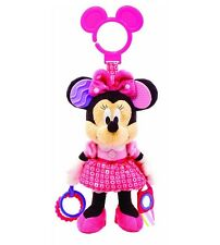 Kids Preferred Disney Baby MINNIE MOUSE ACTIVITY TOY w Clip ~NEW~