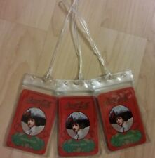 Coca Cola Gibson Girl Luggage Tags - Red Coke Soda Pop Playing Cards Set (3)