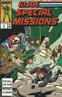 gi joe Comic Issue 8 Special Missions Copper Age First Print Marvel