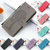 For Huawei P Smart 2021 2020 Case Flip Pattern Leather Card Wallet Stand Cover