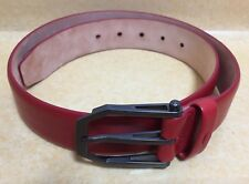 Ferrari Belt Red Color Leather belt made in Italy