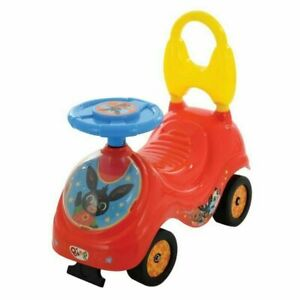 Bing Kids Toddlers First Sit And Ride On Car Toy Red Childs Indoor Boys Girls