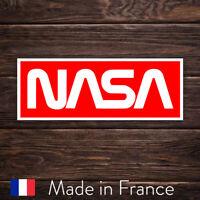 Autocollant Sticker NASA Logo Space Espace, Laptop Mur Smartphone, 9cm LSN006