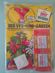 """YPS 240 OVP mit Gimmick """"Der Yps-Mini-Garten"""""""