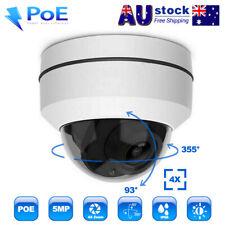 5MP 4X Optical PTZ IP Camera POE CCTV Security Dome Camera IR Night Vision Cam