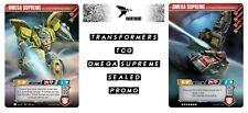 Omega Supreme - Transformers TCG Promo Card