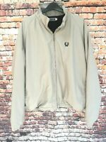 Fred Perry Sportswear Beige Stone Jacket Fleece Lined - XL
