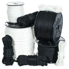 Solid Braid Nylon Rope in 1/8, 5/32, 3/16, 1/4, 5/16, 3/8, and 1/2 Inch - Marine