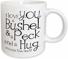 I Love You a Bushel and a Peck Mug Best Gift For Friends & Family Vintage Hot
