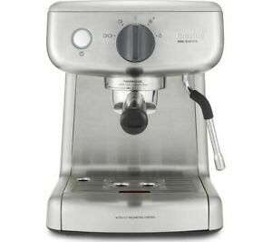 BREVILLE VCF125 Mini Barista Coffee Machine - Stainless Steel - Currys
