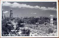 1930s Tombstone, AZ Realphoto Postcard: Boothill Graveyard - Arizona