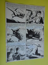 "SERGIO TARQUINIO-tavola originale FIRMATA pagina-50  -""3 Storie Avventurose""1954"