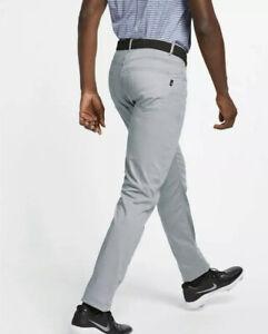 New Nike Flex 5 Pocket Men's Slim Fit Golf Pants, 891924-043,Pure Platinum,36x32