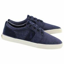 Polo by Ralph Lauren Men's Halmore Heathered Sneaker Newport Navy 10,5 D -  NEW