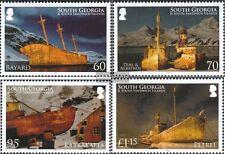 South-georgia/Sandw.Islands 503-506 mint never hinged mnh 2010 Shipwrecks