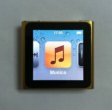 LETTORE MP3 APPLE IPOD NANO 6 GEN 6th 8 GB GOLD TOUCH WATCH SPORT NIKE FITNESS