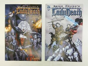 Medieval Lady Death #7 & War of the Winds #3 Avatar Press 2005 FN/VF