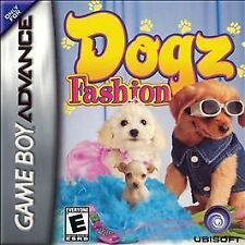 New and Sealed Dogz Fashion (Nintendo Game Boy Advance, 2006) Free Shipping