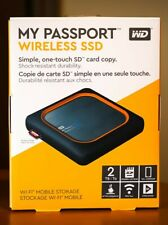 WD 2TB My Passport Wireless SSD External Portable Drive, WiFi, Up to 390 MB/s