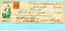 1867 SIGHT DRAFT SIEGEL BROS & CO NEW YORK TO SILVEY & SCHILMAN CHARLESTON SC