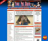 PET SUPPLIES STORE Amazon Website. Google Adsense Income Sources