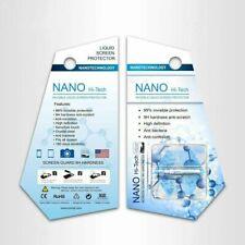 Protector de pantalla Premium de vidrio Nano Liquid 9H de dureza Teléfono Inteligente Smart Watches