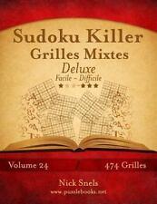 Sudoku Killer: Sudoku Killer Grilles Mixtes Deluxe - Facile à Difficile -...