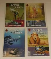 AFTER EDEN COMPLETE SET OF 4 ISSUES #1, 2, 3 AND 4 RED 5 COMICS 2017 CB