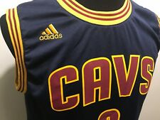 NBA Cleveland Cavaliers Basketball Jersey Kyrie Irving Adidas Boys Size L Jersey