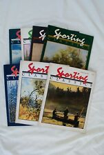 """Seven Issues Of """"Sporting Classics� Magazine From The Early 1980'S"""