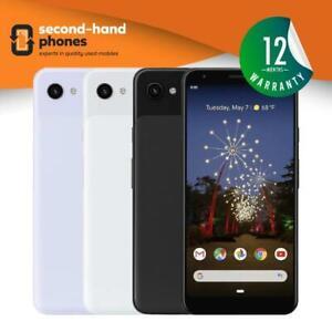 Google Pixel 3 XL 64GB/128GB Unlocked / SIM FREE Smartphone Black,White,Pink