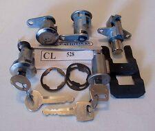 1967 1968 Mustang door ignition trunk glovebox lock set OE Quality 528