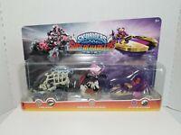 Skylanders SuperChargers TRIPLE Combo Bone Bash Roller Brawl, Tomb Buggy & Splat