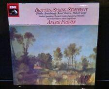 ASD 3650 ANDRÉ PREVIN  / Britten - Spring Symphony, Rare HMV FIRST EDITION
