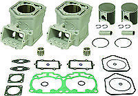 SKIDOO 600 HO E-TEC MXZ Summit TOP END REBUILD KIT PISTON CYLINDER 2011-2017
