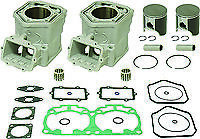SKIDOO 800 SUMMIT MXZ RENEGADE P-TEK E-TEK TOP END REBUILD KIT PISTON CYLINDER