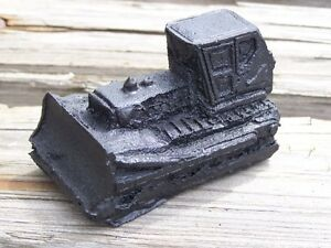 Bulldozer Coal Figurine Handcrafted In Kentucky